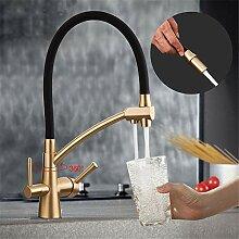 TNR® Wasserhahn Küchenarmatur mit gefilterten