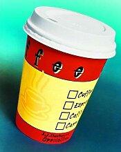 TO GO Kaffeebecher mit Deckel 50er