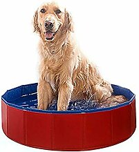TO_GOO Schwimmbecken für Hunde, faltbar,