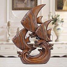 Toaryong Das Wohnzimmer Dekoration Dekoration Dekoration Wohnungseinrichtung Fisch Tv-Schrank Kunsthandwerk Geschenke