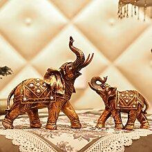 Toaryong Das Wohnzimmer Dekoration Dekoration Eines Europäischen Lucky Elephant Bar Heimtextilien Schmuck Basteln Hochzeit Geschenk, Elefan
