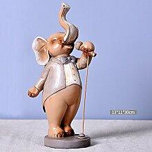 Toaryong Die Hochzeit Geschenk Kreative Dekorationen Kunsthandwerk Wein Heimtextilien Europäischen Elefant Wohnzimmer Tv-Schrank Häuser Wie Verzierungen, Sänger