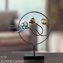 Toaryong Die Kunst Des Lotus Ornamente Harz Handwerk Kreative Chinesische Wohnzimmer Tv-Schrank Home Ausstattung Bügeleisen Heimtextilien Schmuck Schmuck, Querschnitt Größe