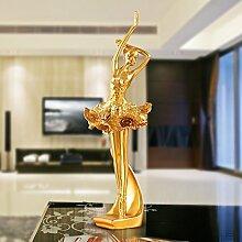 Toaryong Europäische Kreative Tänzerin Abbildung Dekoration Einrichtung Einrichtung Eingang Wohnzimmer Tv-Schrank Schrank Möbel Hochzeit Geschenk, Zwei Vorangegangen Tänzerin