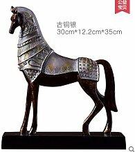 Toaryong Heimtextilien Desktop Anzeige Tv-Schrank Einrichtung Chinesische Studie Eingang Dekoration Dekoration Cabinet, Antik Silber