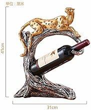 Toaryong Im Europäischen Stil Wohnzimmer Dekoration Wie Wein Portal Startseite Möbel Moderne Kreative Tv-Schrank Handwerk Hochzeit Geschenk, Leopard Wine Rack