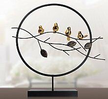 Toaryong Modernen Chinesischen Stil Dekoration Dekoration Wohnungseinrichtung Wohnzimmer Tv Cabinet Office Eingang Creative Soft Dekoration Dekoration, Binden Den Knoten [Trompete Single]