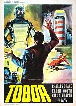 Tobor The Great Poster 04 Metal Sign A4 12x8 Aluminium