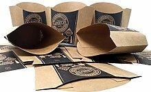 ToCis Big BBQ 24 Stück Pommes-Schalen aus Pappe |