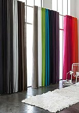 Today Schlaufenvorhang, Polyester, Smaragdgrün,
