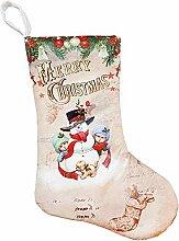 Todaytop Nikolausstiefel-Set mit weihnachtlicher