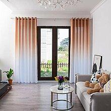 ToDIDAF Blickdicht Gardinen Vorhang, Steigung