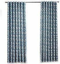 ToDIDAF Gedruckte Gardinen Vorhänge, 1 Stück