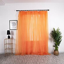 ToDIDAF Gedruckte Gardinen Vorhang, Blätter