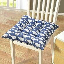 ToDIDAF Quadratisches Sitzkissen, Leinen Style