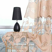 ToDIDAF Transparente Gardinen Vorhang, Blätter