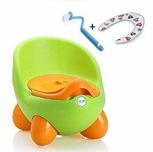 Töpfchen Kinder Pissoir, Babytopf, Kindertoilette Kinder Frosch Urinal ( Farbe : 5# )