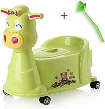 Töpfchen Kinder Pissoir, Babytopf, Kindertoilette Kinder Frosch Urinal ( Farbe : 2# )