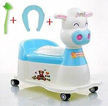 Töpfchen Kinder Pissoir, Babytopf, Kindertoilette Kinder Frosch Urinal ( Farbe : 12# )