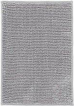 TOFTBO Badematte grau-weiß Melange