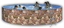 Toi–Pool Steingärten Kreissägeblatt 400x 90cm Filter Kartusche 2m³/h