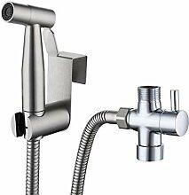 Toilette Adapte Waschen Edelstahl Duschkopf Bidet,