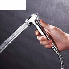 Toilette unter Druck Spritzpistolen Kupfer waschen