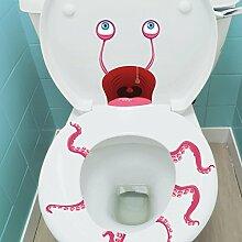 Toiletten-Monster Aufkleber im 31er Set - Toiletten-Monster Aufkleber Wandsticker Zombie Wandaufkleber