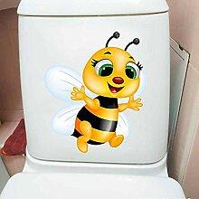 Toilettenaufkleber Nette Biene Toilette Aufkleber