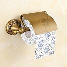 Toilettenpapierhalter,Bronze Wc papierhalter