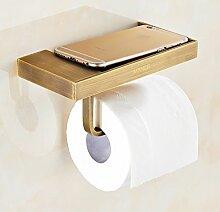 Toilettenpapierhalter,Bronze Wc papierhalter Wc