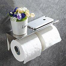 Toilettenpapierhalter,Edelstahl Wc papierhalter Wc