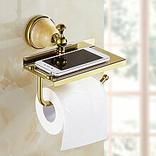 Toilettenpapierhalter,Europäisch Bronze Wc