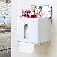 Toilettenpapierhalter Kunststoff,Große kapazität
