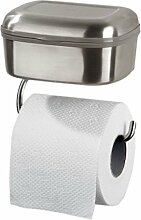 Toilettenpapierhalter Tiger Combi Edelstahl