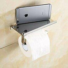 Toilettenpapierhalterung Handyhalter, Tablett,