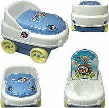Toilettentrainer Blau Kindertoilette Topfstuhl Baby Töpfchen Lern Klo Toilette Topf