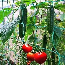 ToKinCen Ranknetz Rankhilfe Garten Tomaten Gurken