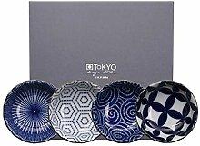 TOKYO Design Studio Kotobuki 4-er Dip-Schalen-Set