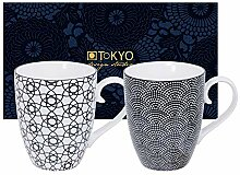 TOKYO design studio, Nippon Black, 2 Tassen Set in