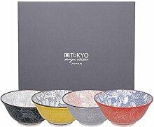 TOKYO design studio, Sakura, Schalen Set 4x14,8cm,