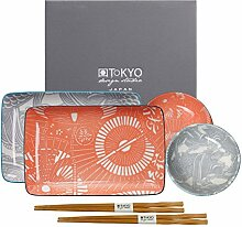 TOKYO design studio Shiki Teller mit Essstäbchen