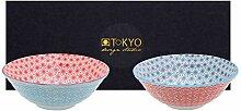 TOKYO design studio Star Wave 2-er Schalen-Set