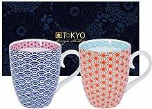 TOKYO design studio, Star Wave, 2 Tassen Set in