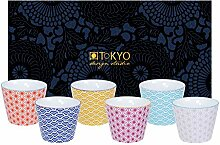 TOKYO design studio, Star Wave, 6 Becher Set in