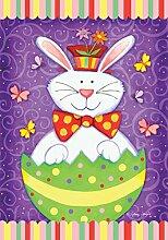 Toland Home Garden Bunny Surprise Deko Garten