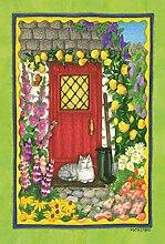 Toland Home Garden Cottage Kitty Garten Flagge