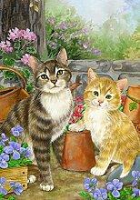 Toland Home Garden Purrfect Gartendeko