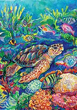 Toland Home Garden Unechte Schildkröte Garten