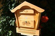Toller Briefkasten, Holzbriefkasten